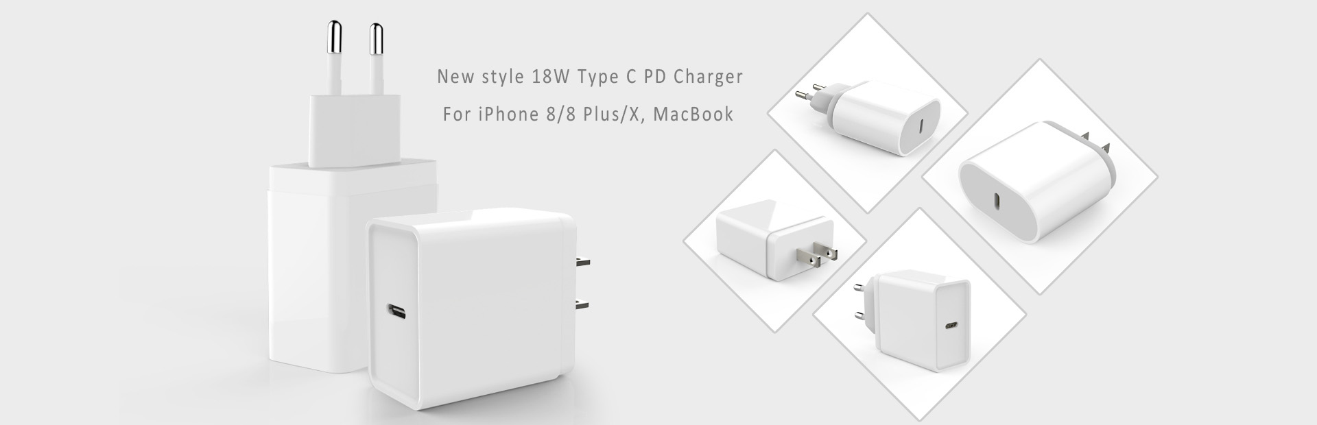 Type-C PD 18W Charger,for iphone 8/8 plus/X,MacBook